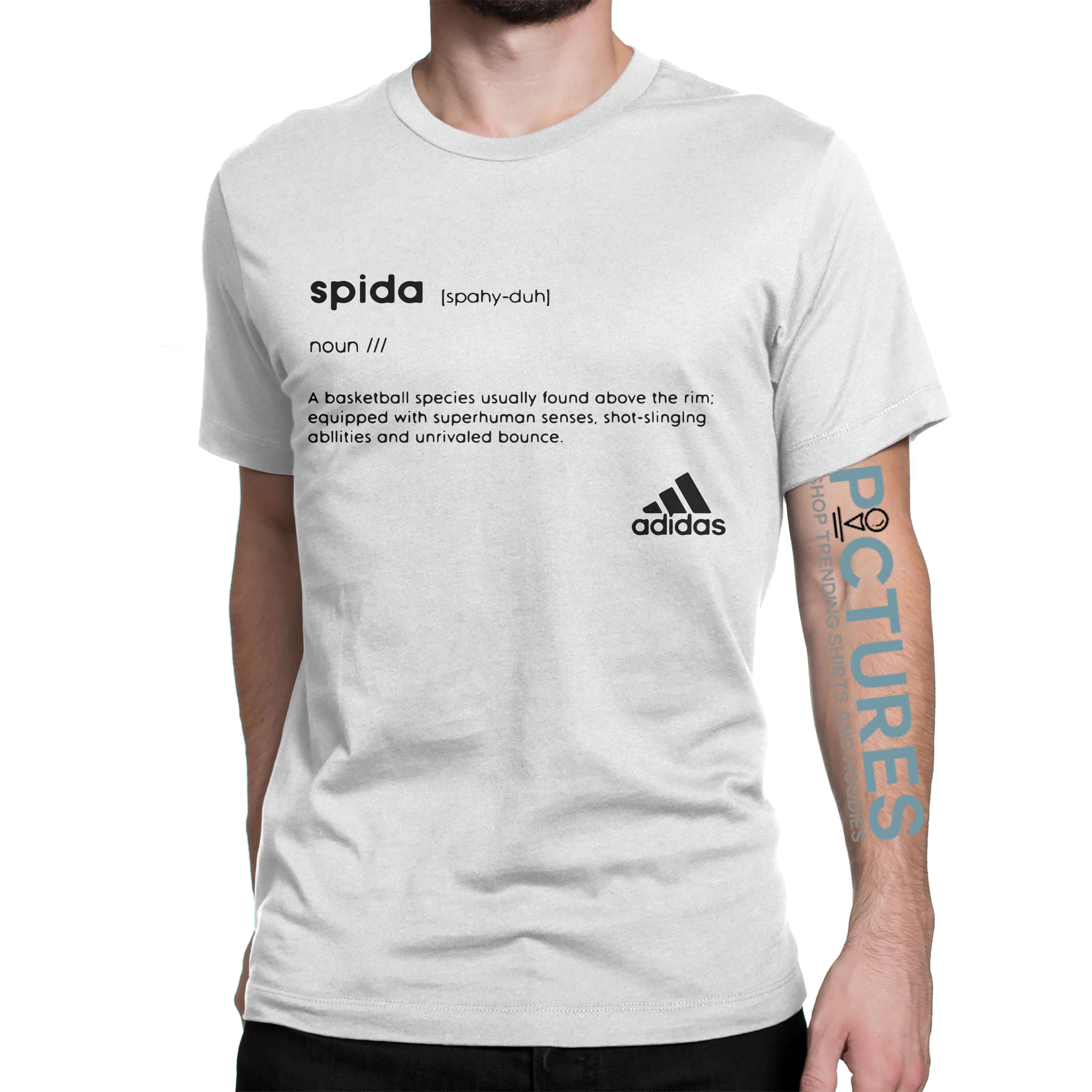 Donovan Mitchell Adidas Spida shirt