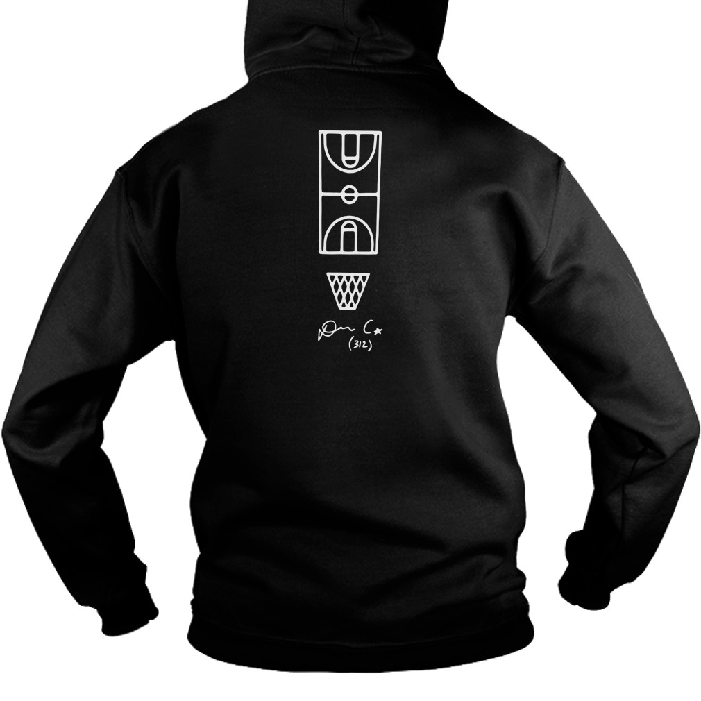 Footlocker One And Done 2018 Chicago Don C Liangelo Ball NBA draft Hoodie back