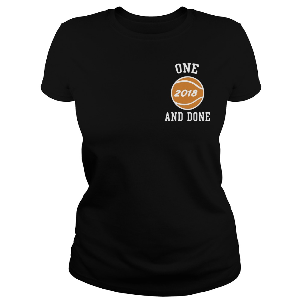 Footlocker One And Done 2018 Chicago Don C Liangelo Ball NBA draft Ladies tee