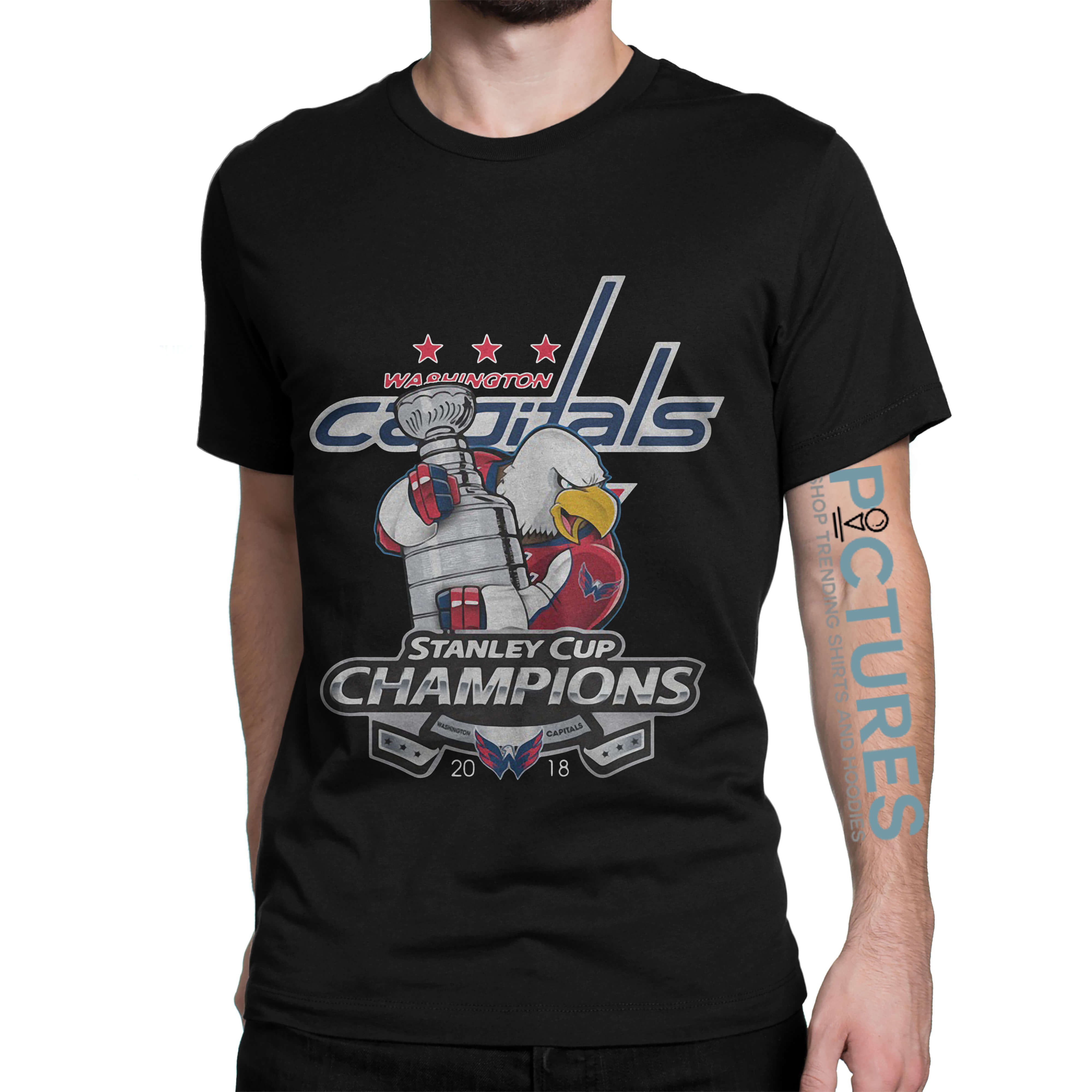 Washington Capitals' Stanley Cup Champions shirt
