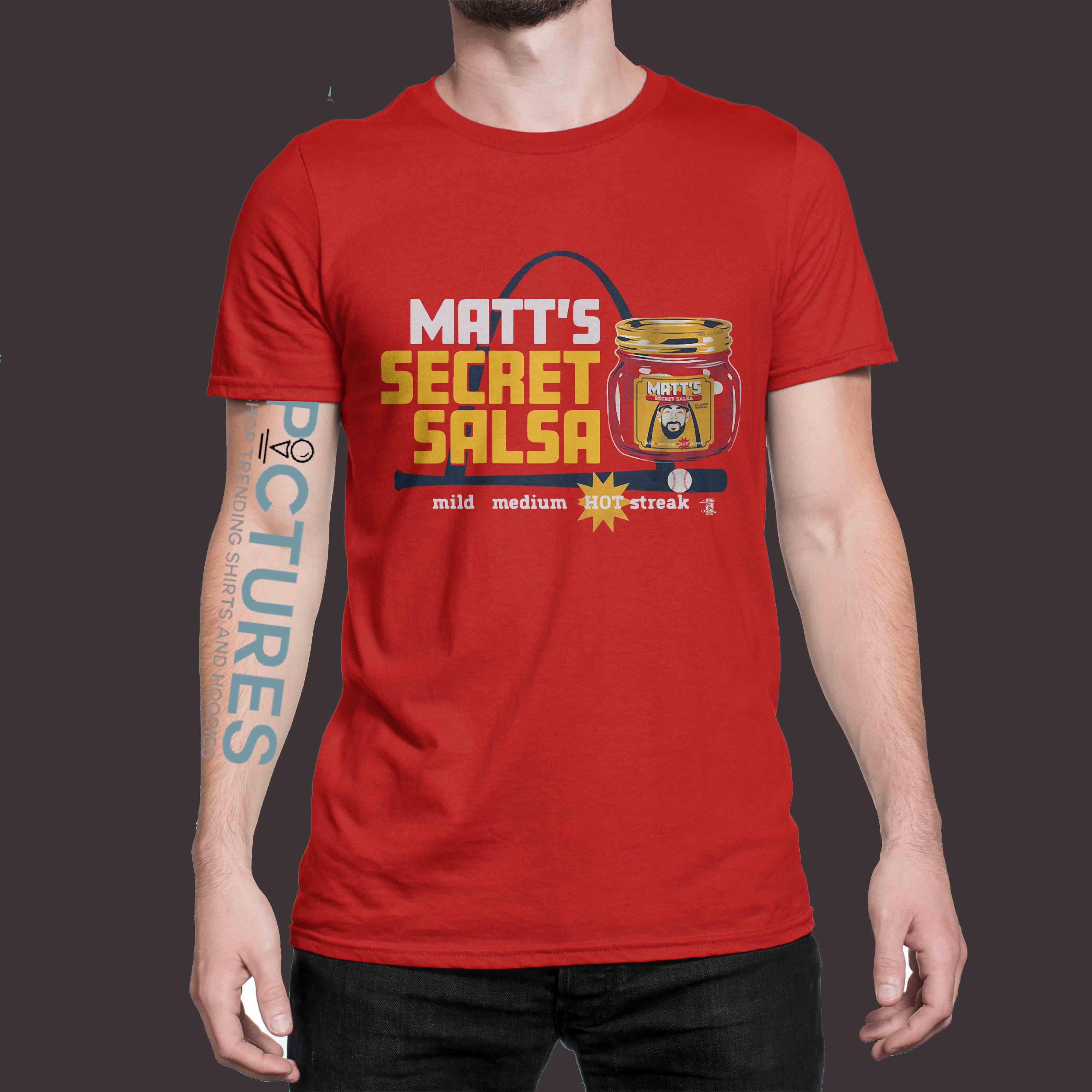 Matt Secret Salsa shirt