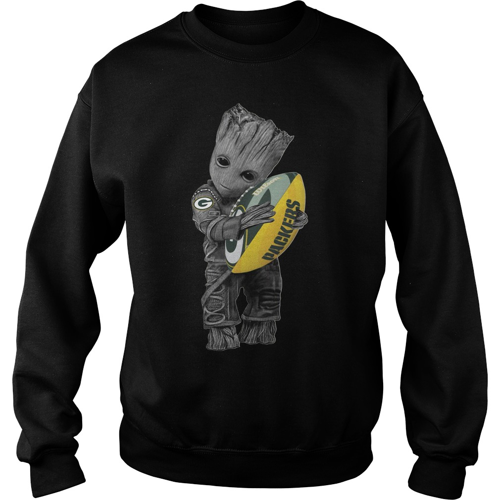 Official Baby Groot hug Green Bay Packers shirt 1e5a75324