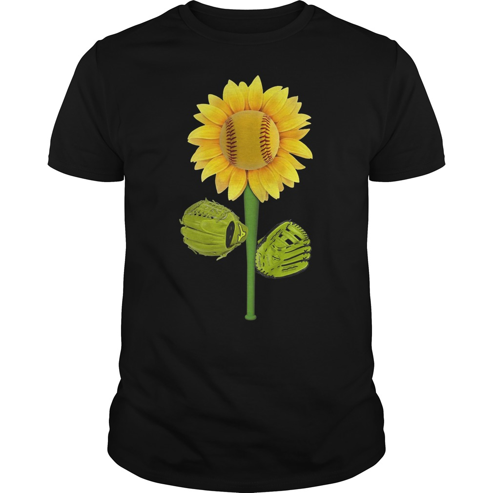 Official Baseball Sunflower Guys tee