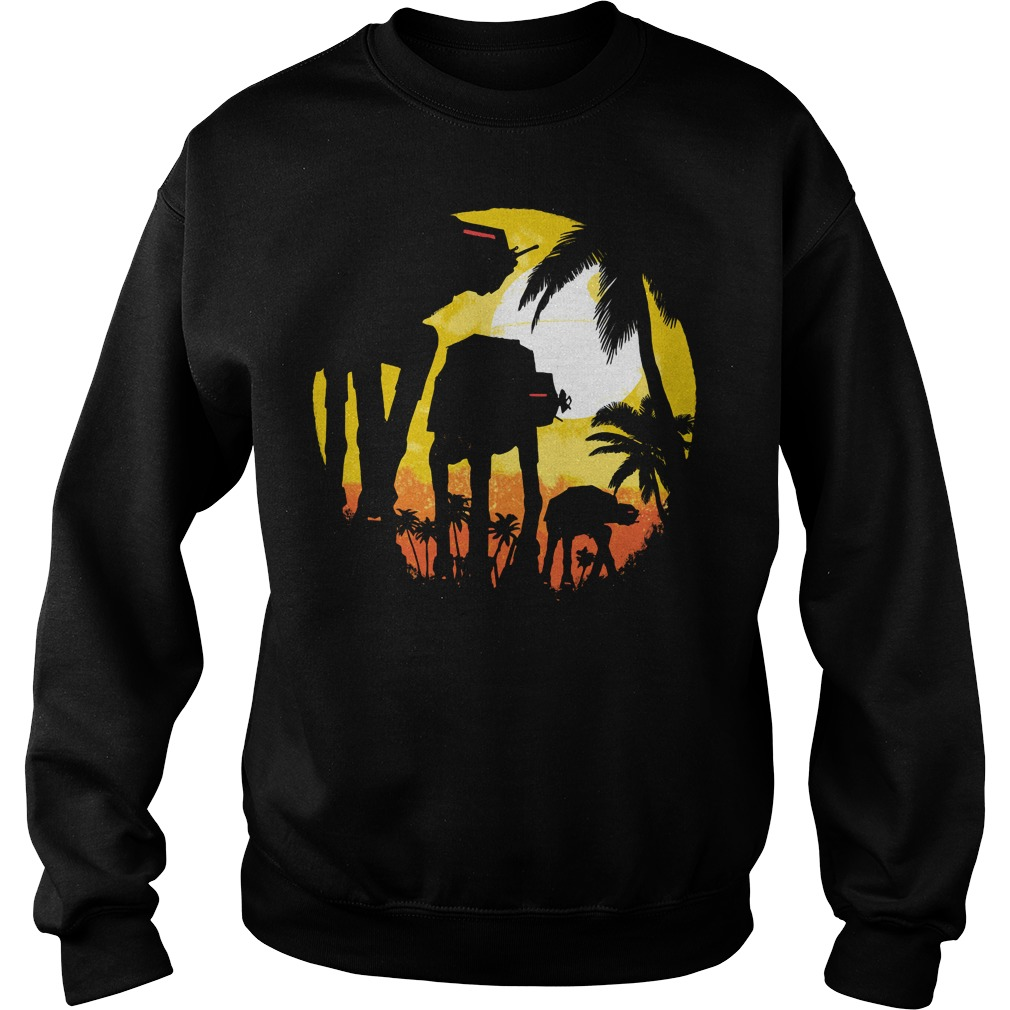 Tropical attack Star wars Sweater