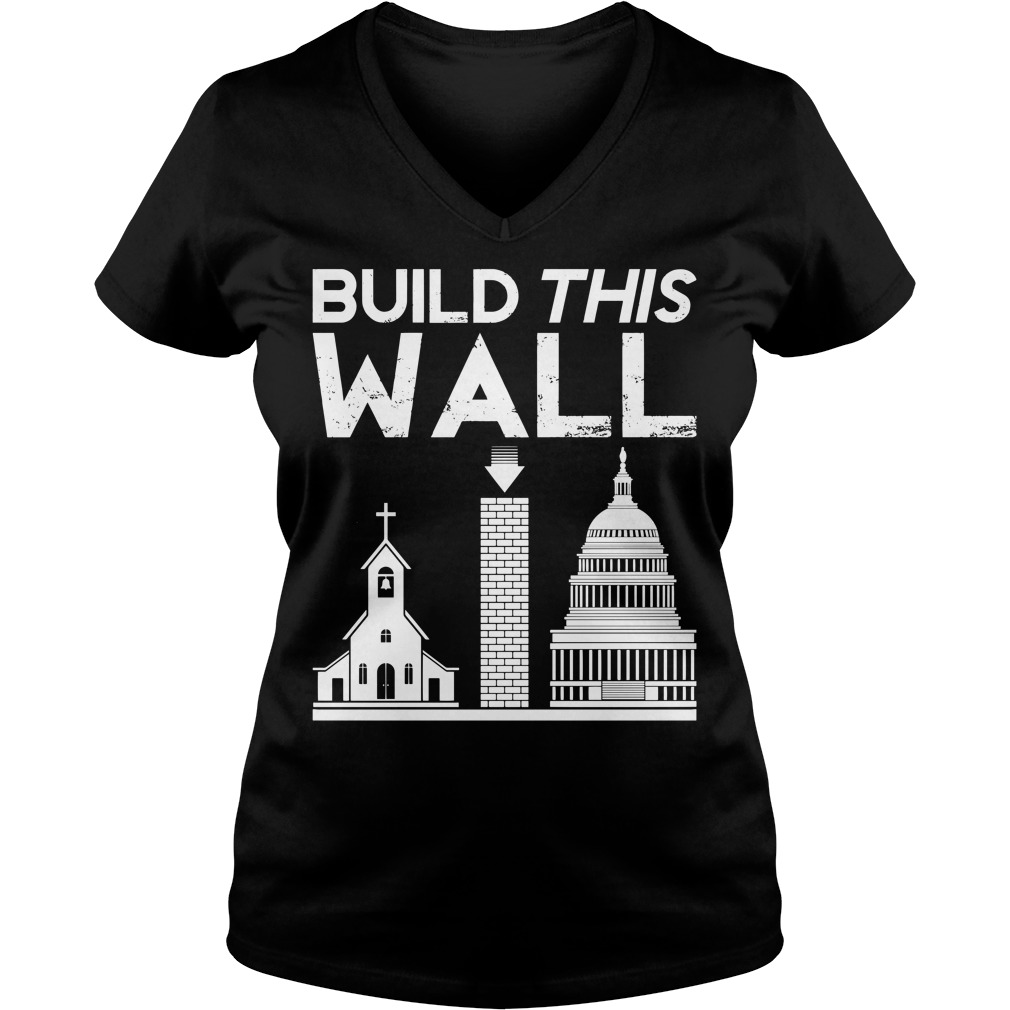 Build This Wall V-neck