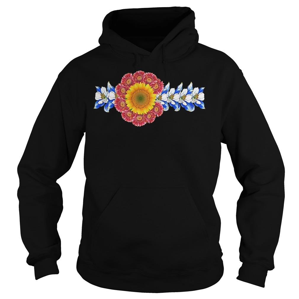 Colorado Flower Hoodie