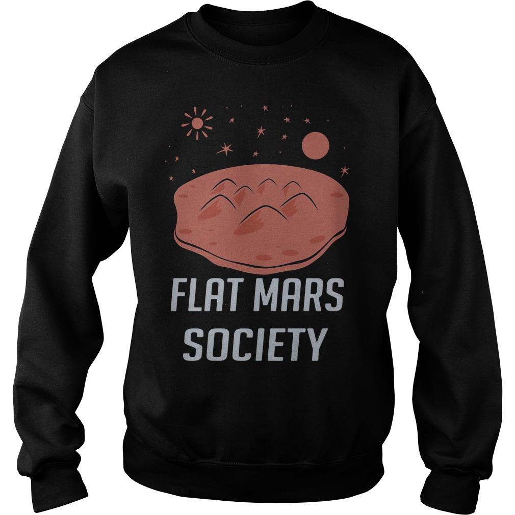 Flat Mars Society Sweater