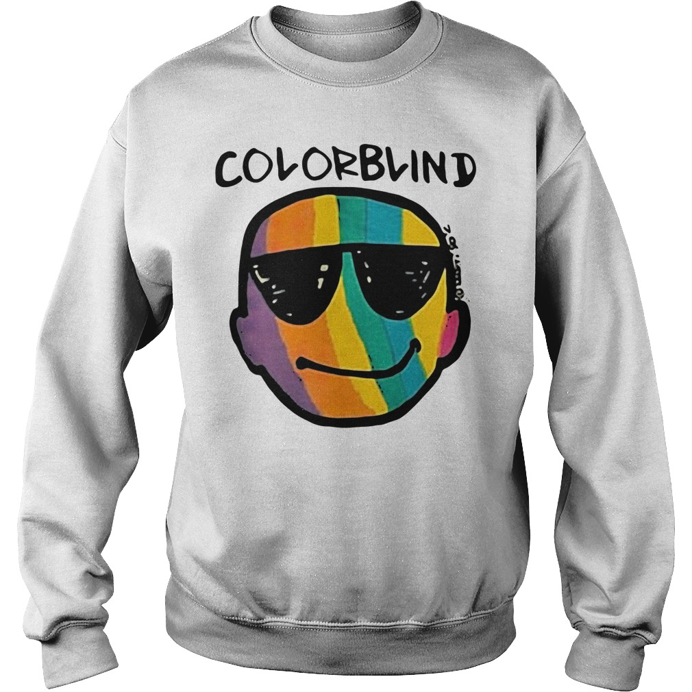 Justin Bieber Colorblind Sweater