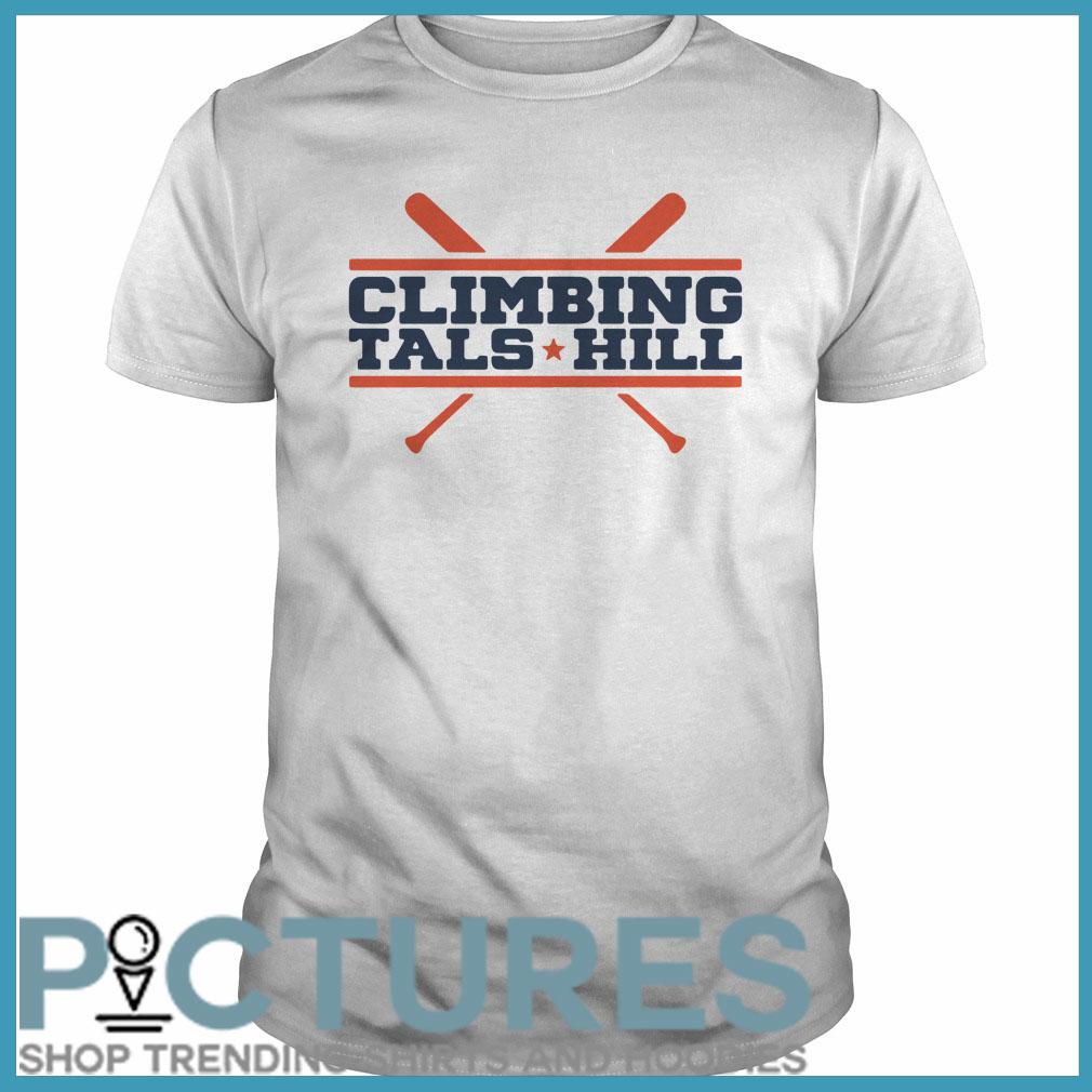 Climbing Tal's Hill Guys tee