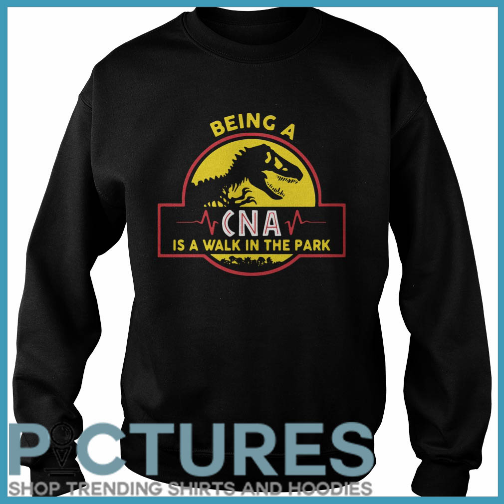 Being a CNA is a walk in the park Sweater