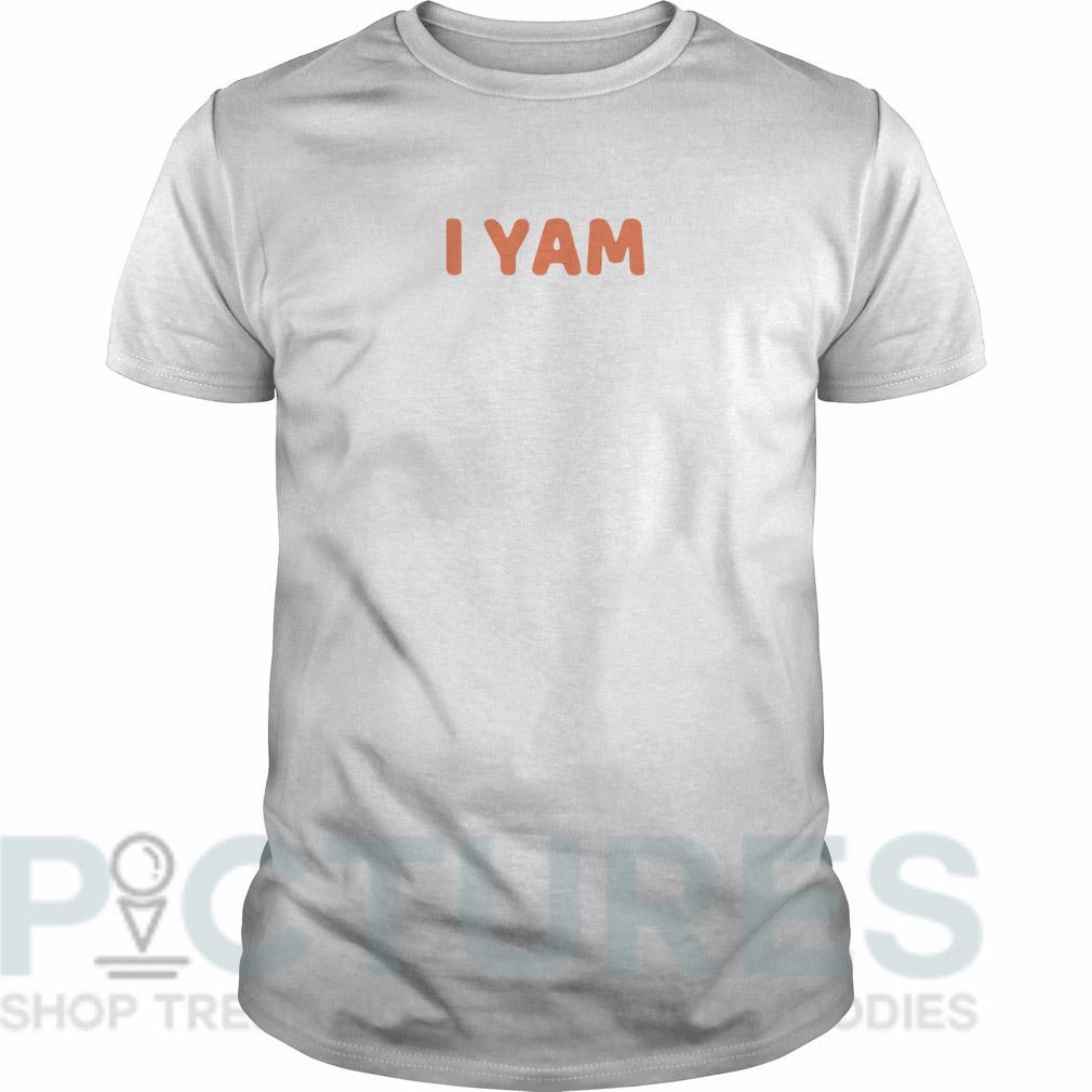 I yam Guys tee