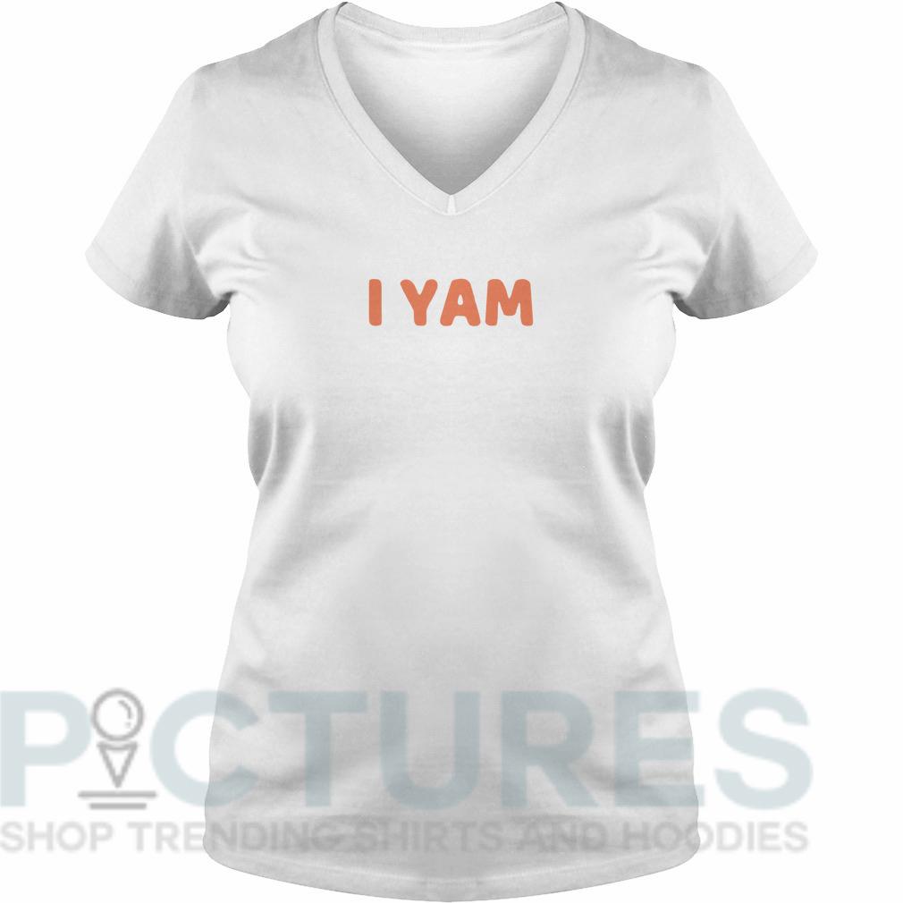 I yam V-neck