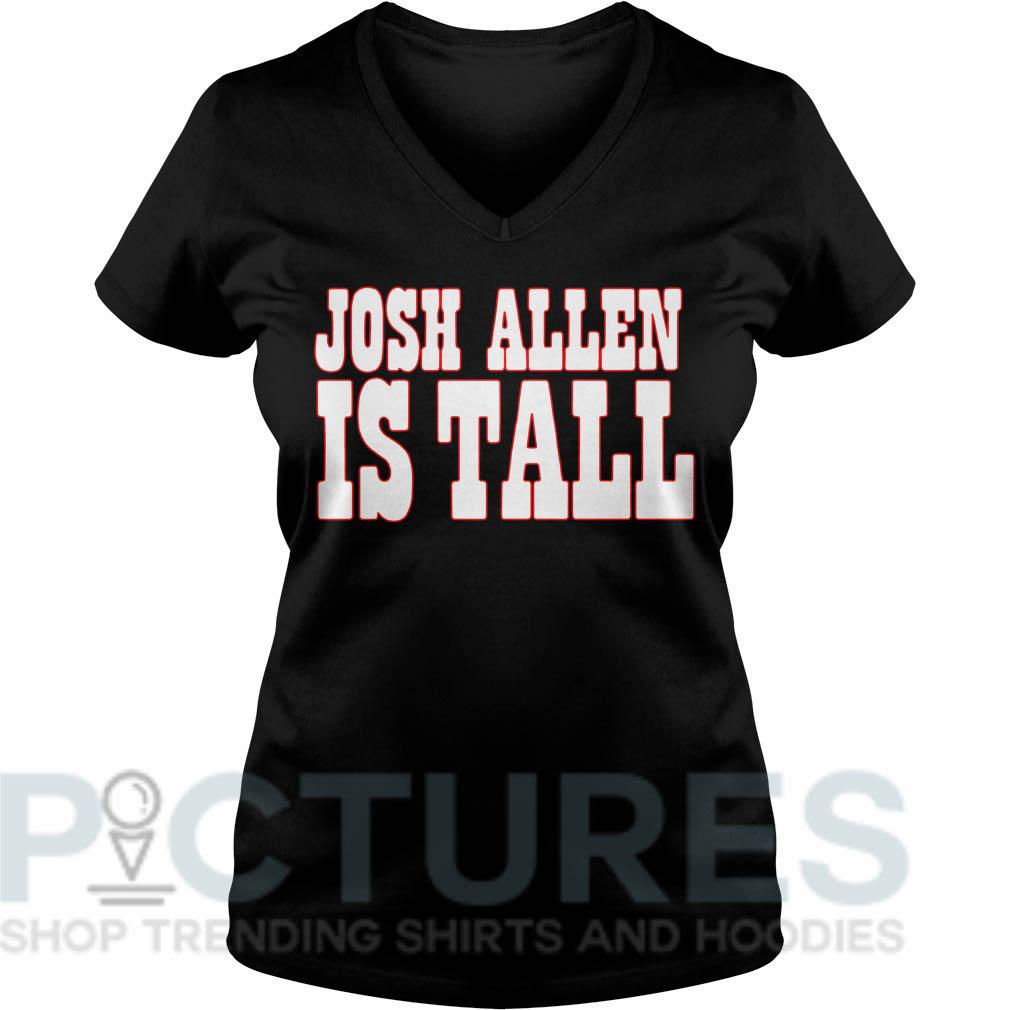 Josh Allen is tall