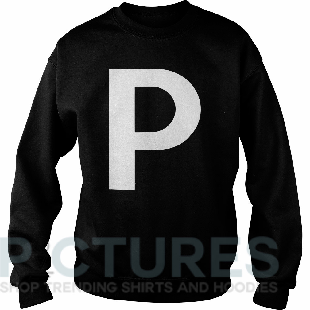 Letter P Sweater
