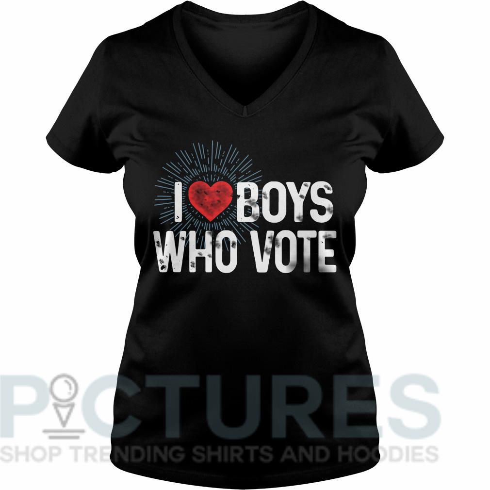 I love boys who vote V-neck