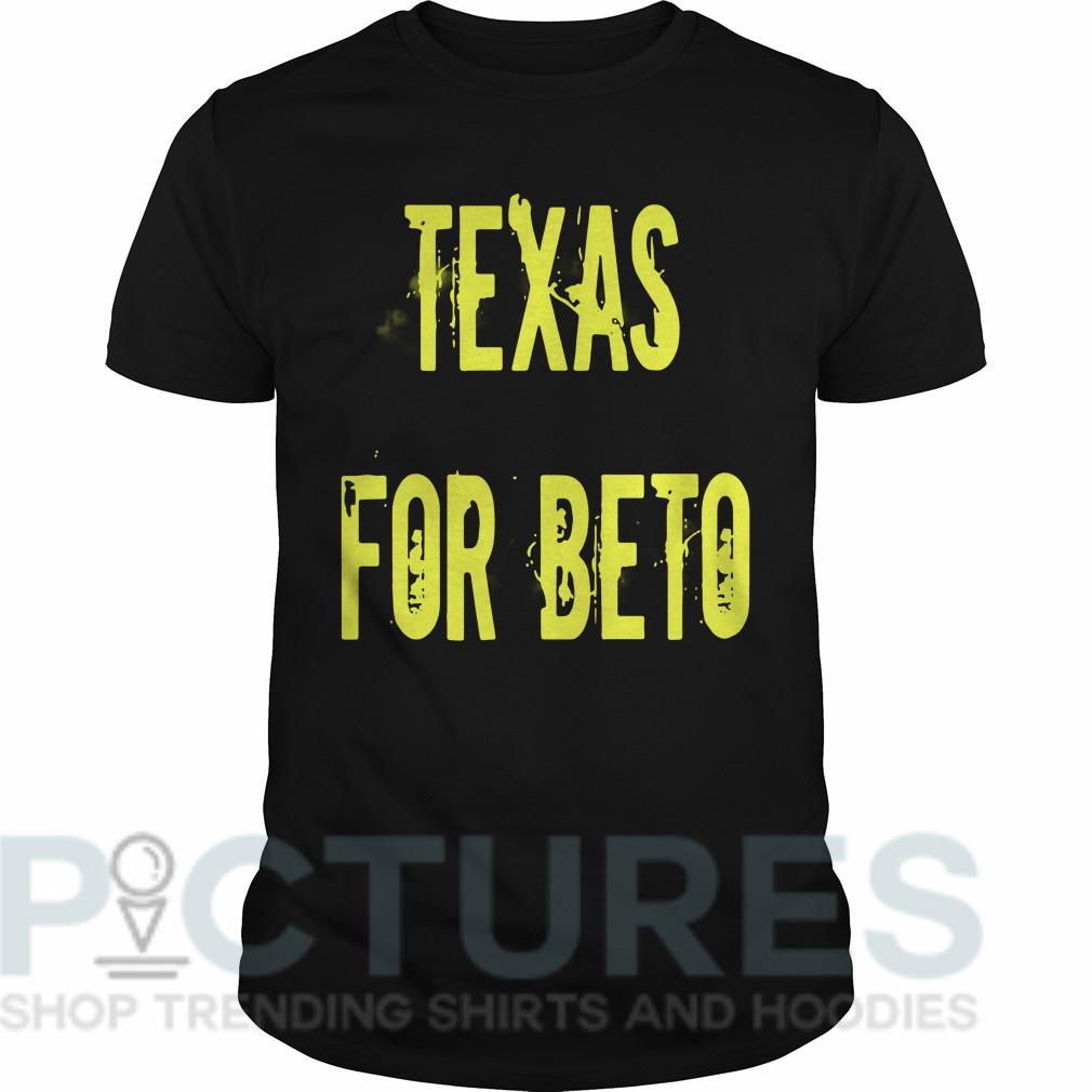 Texas for Beto Guys tee
