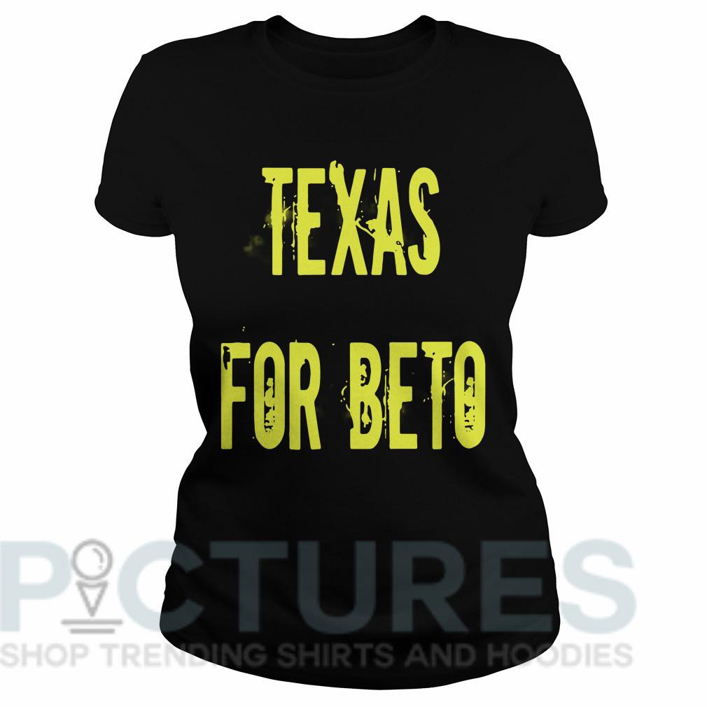 Texas for Beto Ladies tee