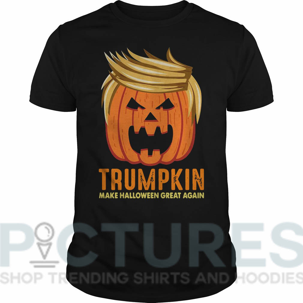 Trumpkin Make Halloween Great Again Guys tee