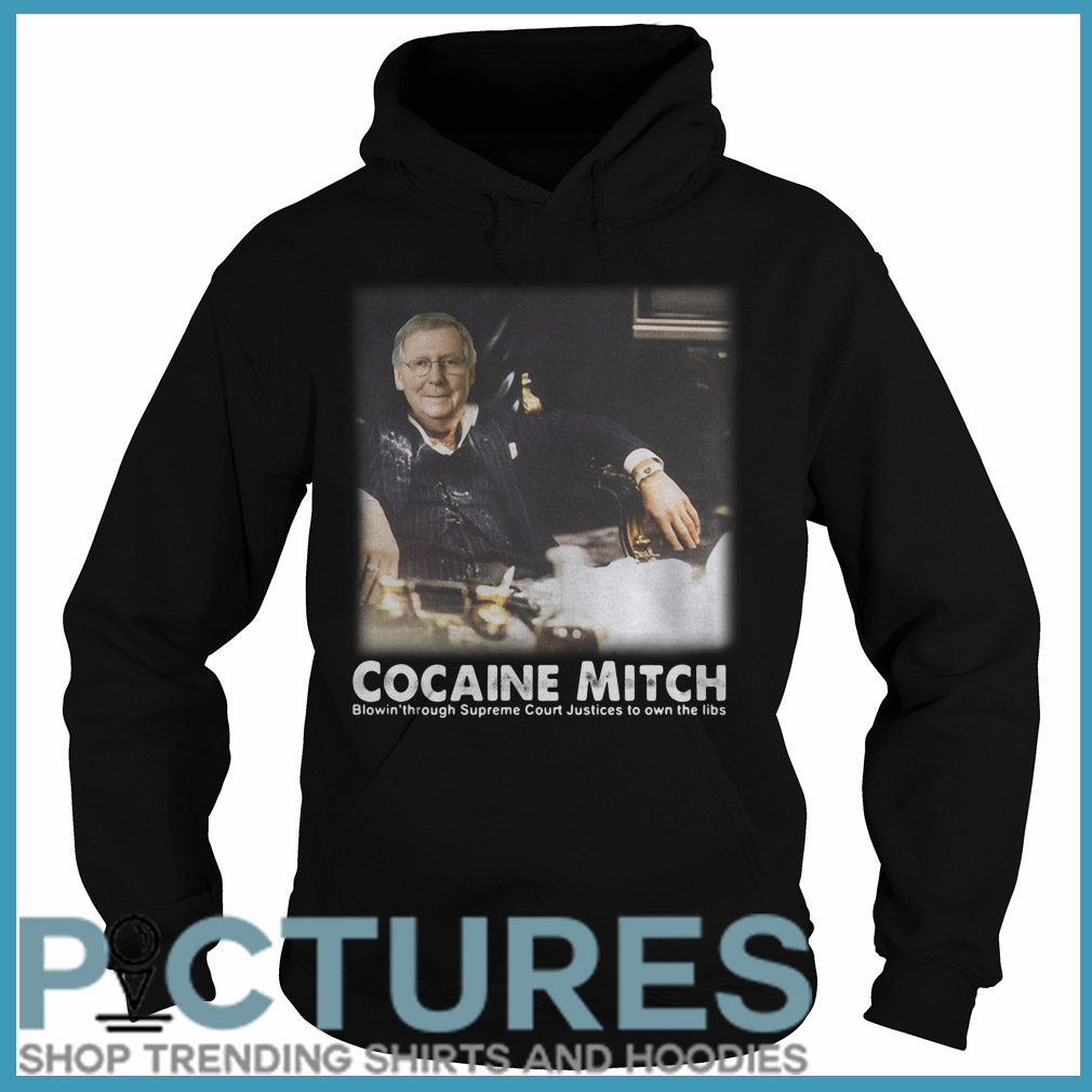 Cocaine Mitch McConnell Hoodie