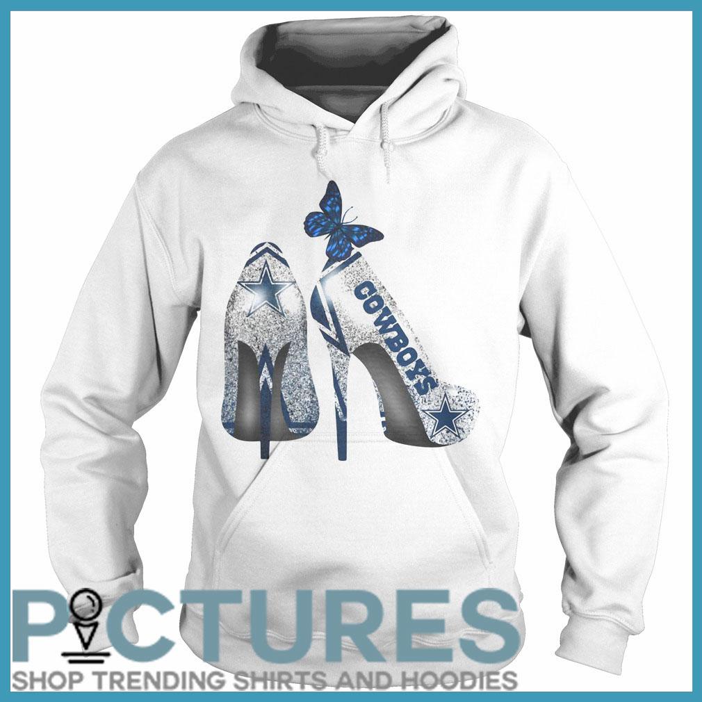 Dallas Cowboys high heels Hoodie