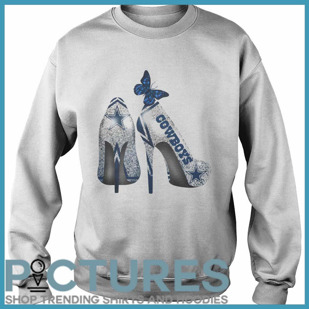 Dallas Cowboys high heels Sweater