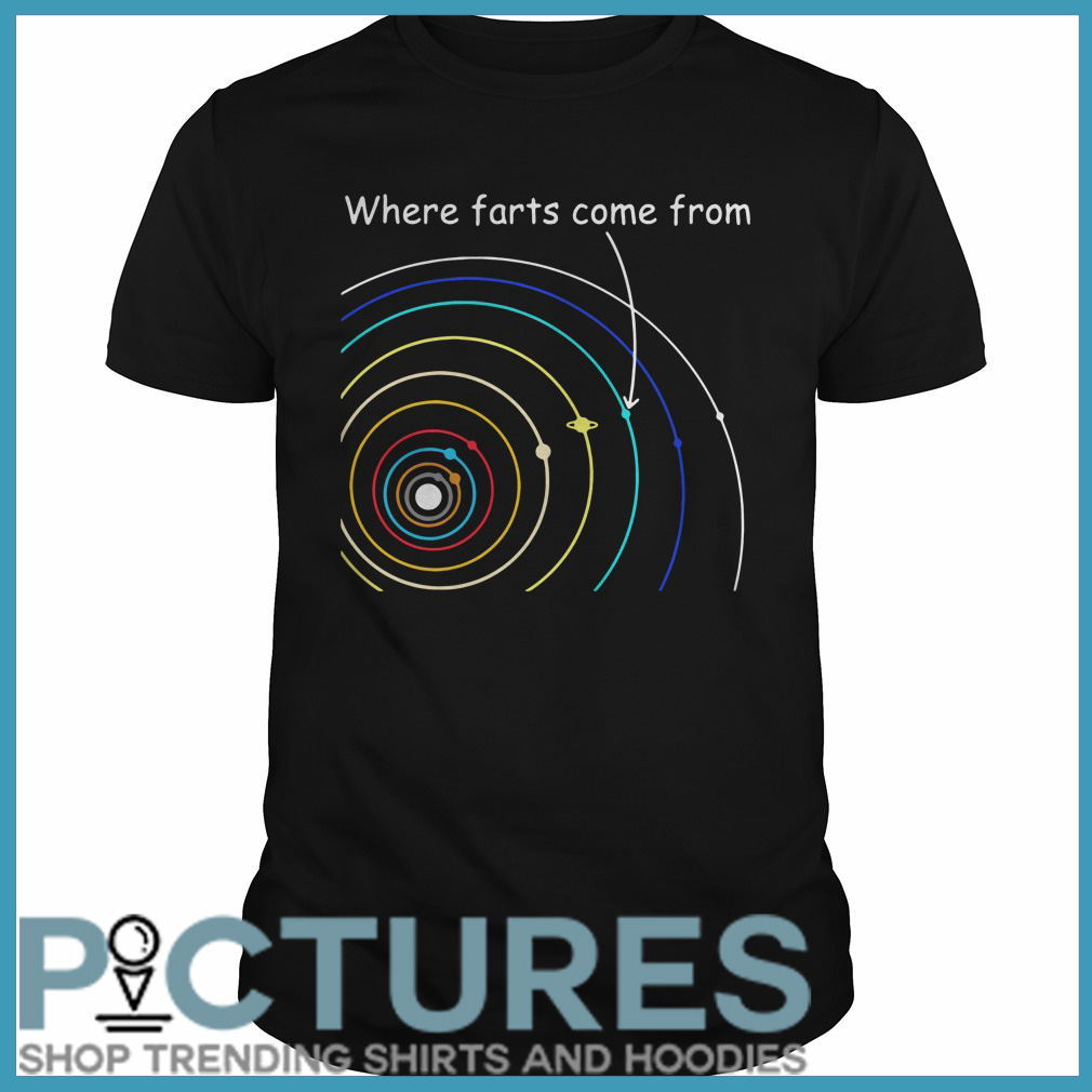 Where farts come from Guys tee