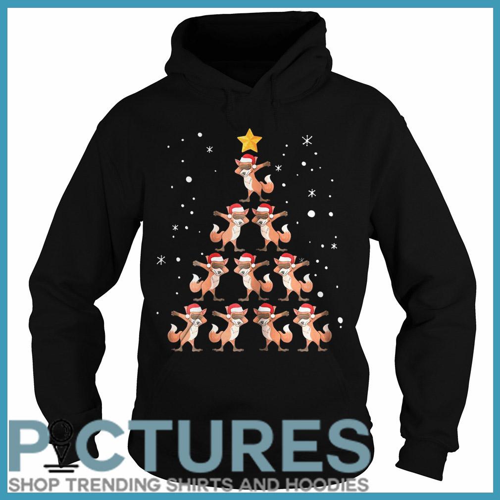 Fox Christmas tree Hoodie