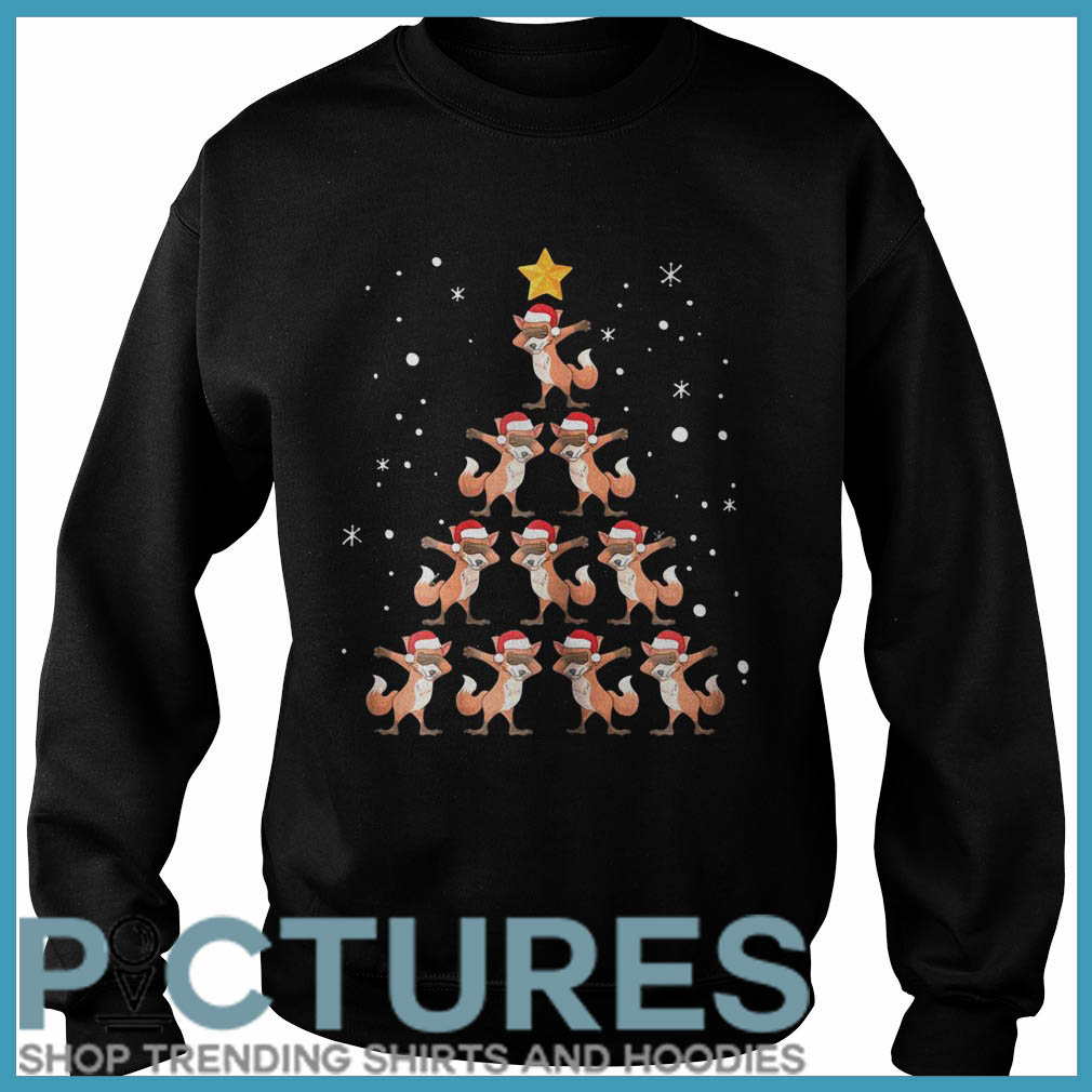 Fox Christmas tree Sweater