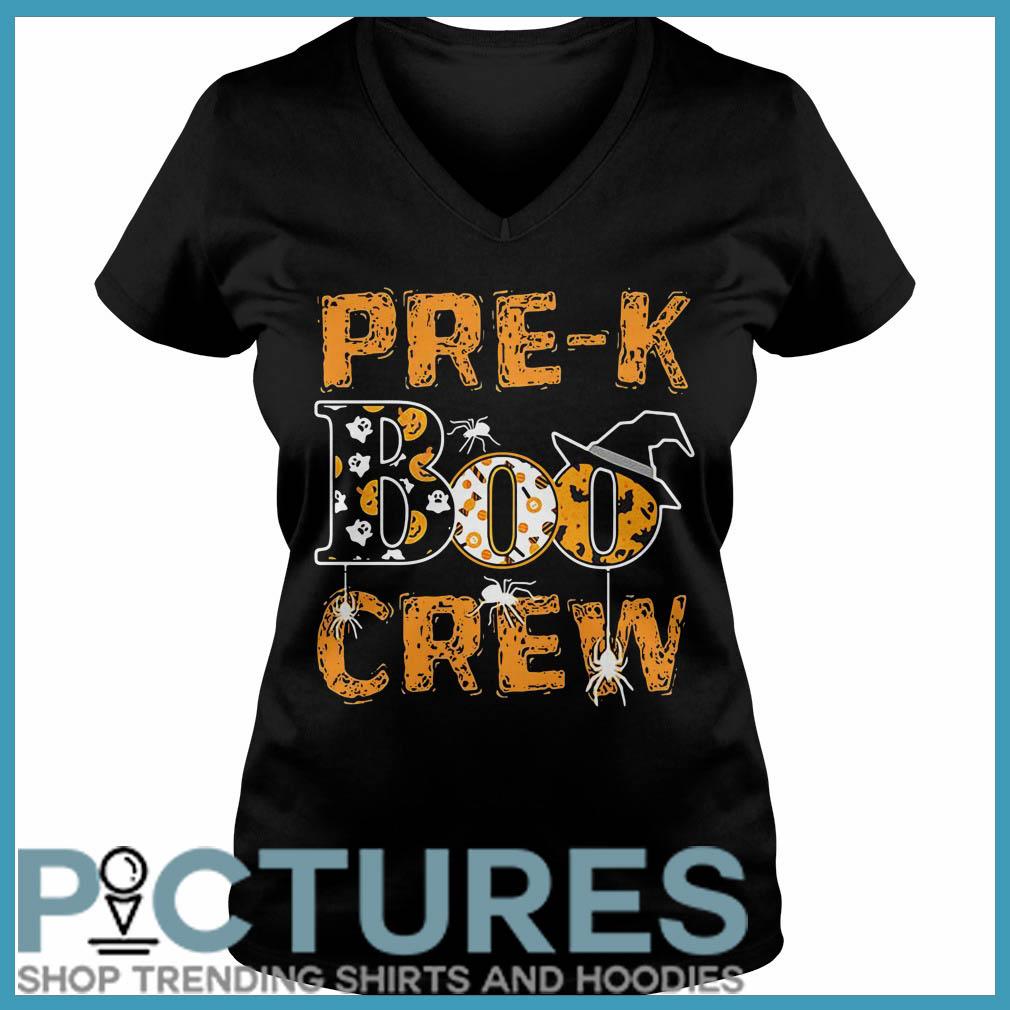 Halloween pre-k Boo crew V-neck