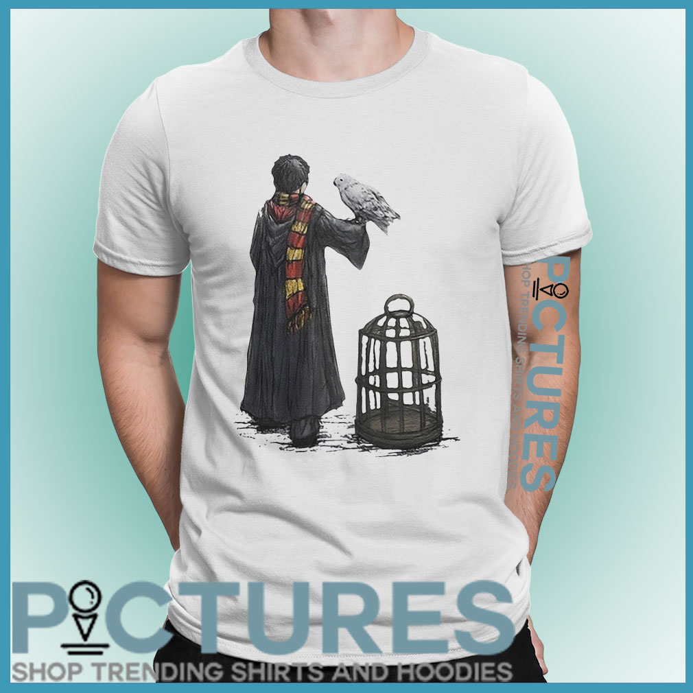 Harry Potter and Hedwig shirt