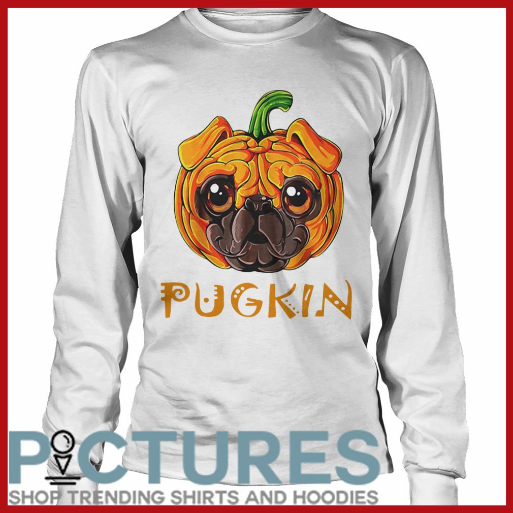 Pugkin Pug Pumpkin Long sleeve