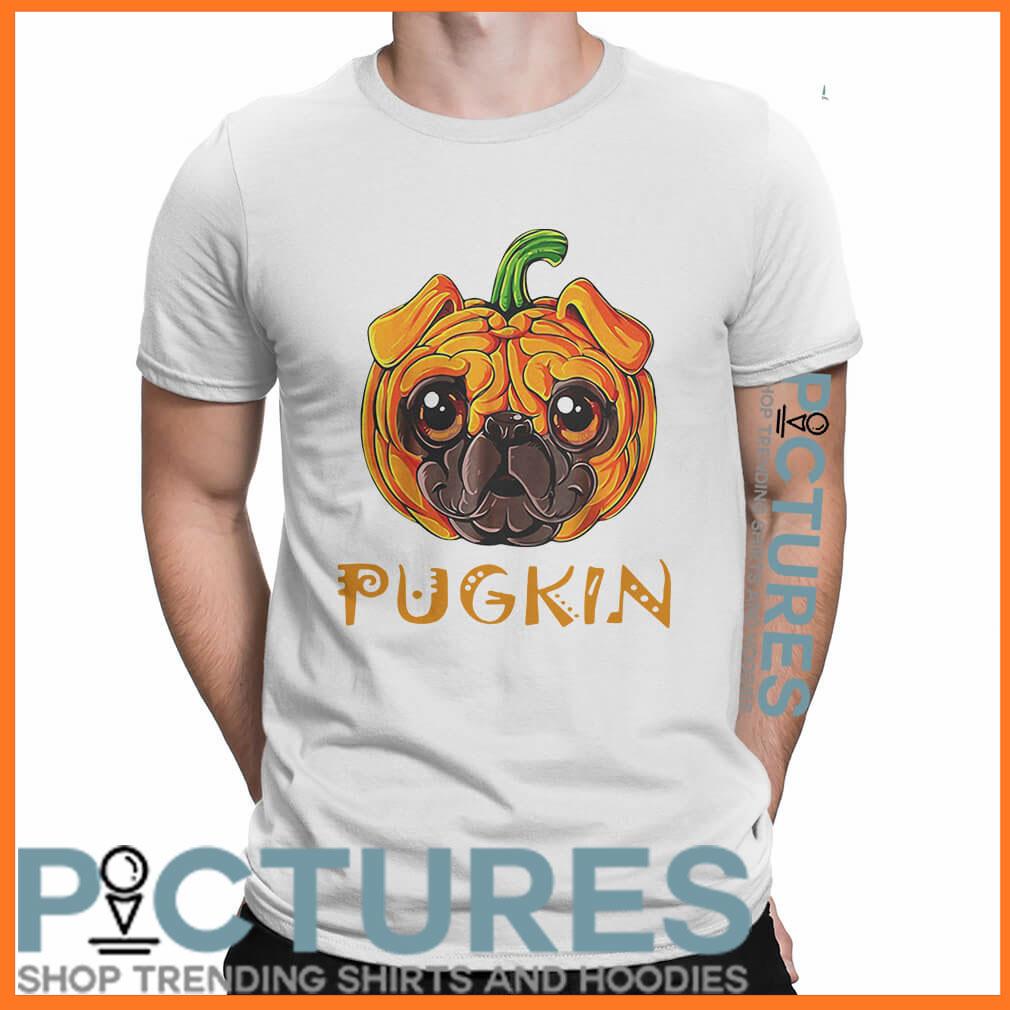Pugkin Pug Pumpkin shirt