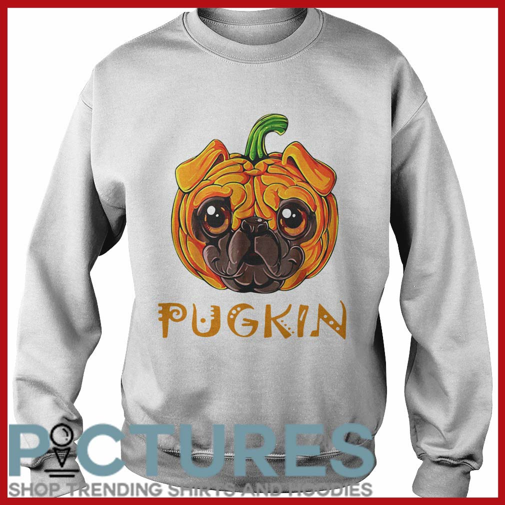 Pugkin Pug Pumpkin Sweater