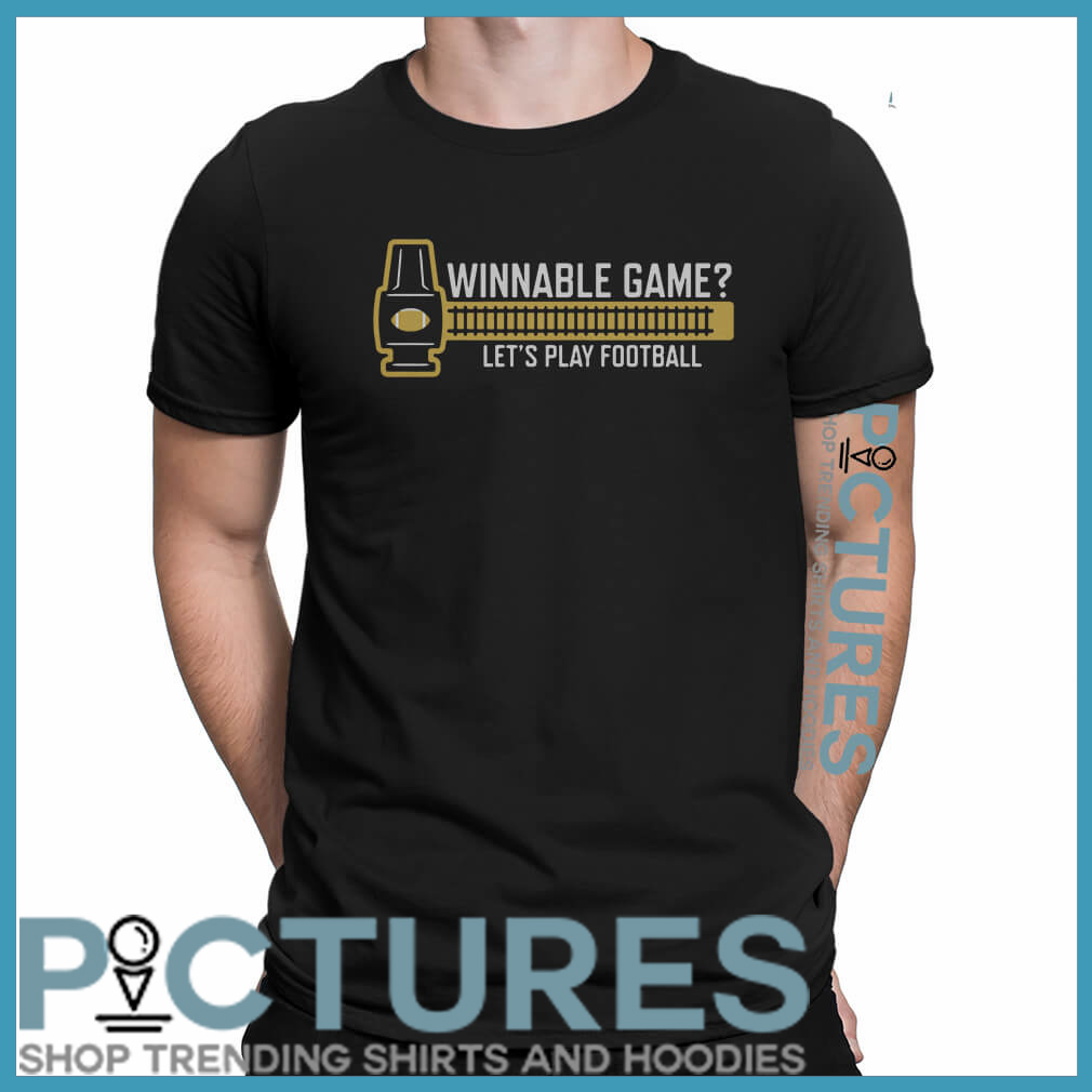 Winnable game shirt