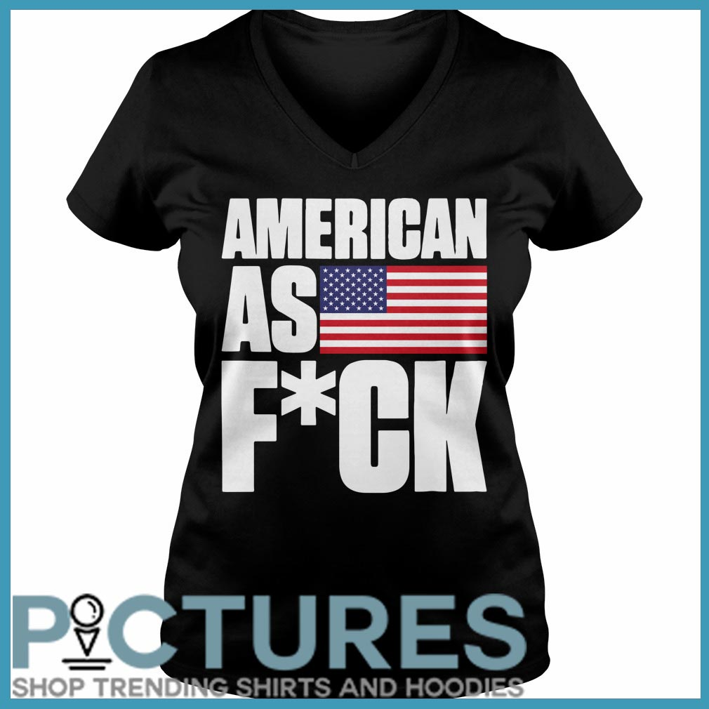 American as fuck V-neck