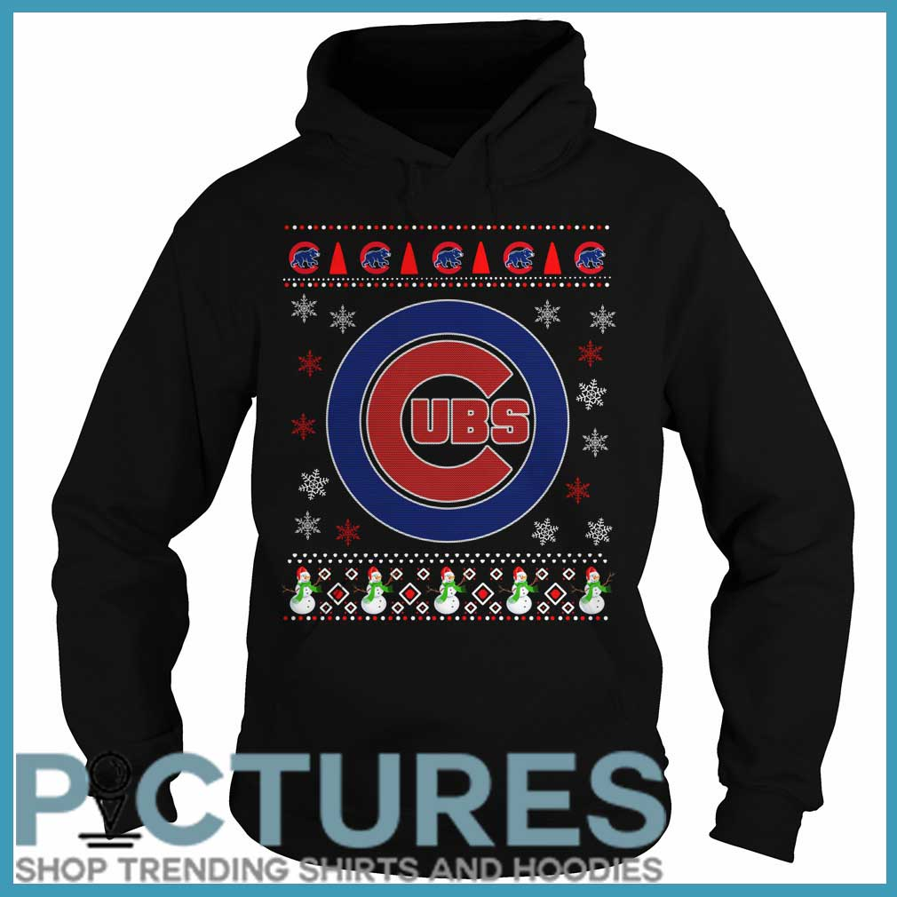 Chicago Cubs Christmas Hoodie