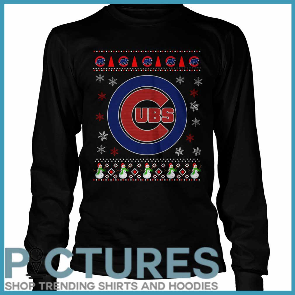 Chicago Cubs Christmas Long sleeve