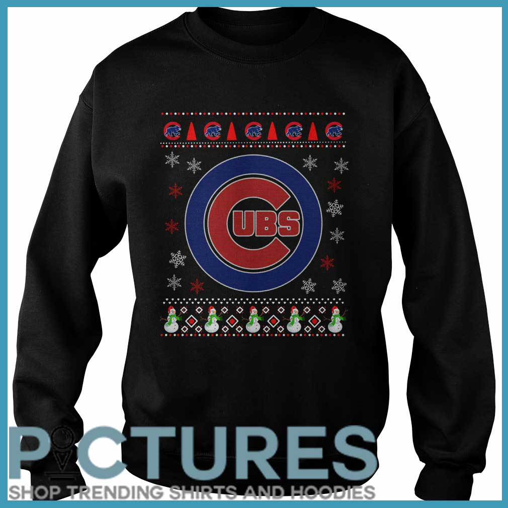 Chicago Cubs Christmas Sweater