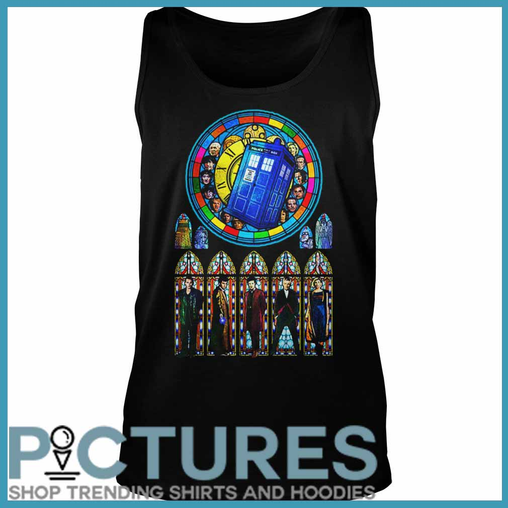 Doctor Who Stained glass Tank top
