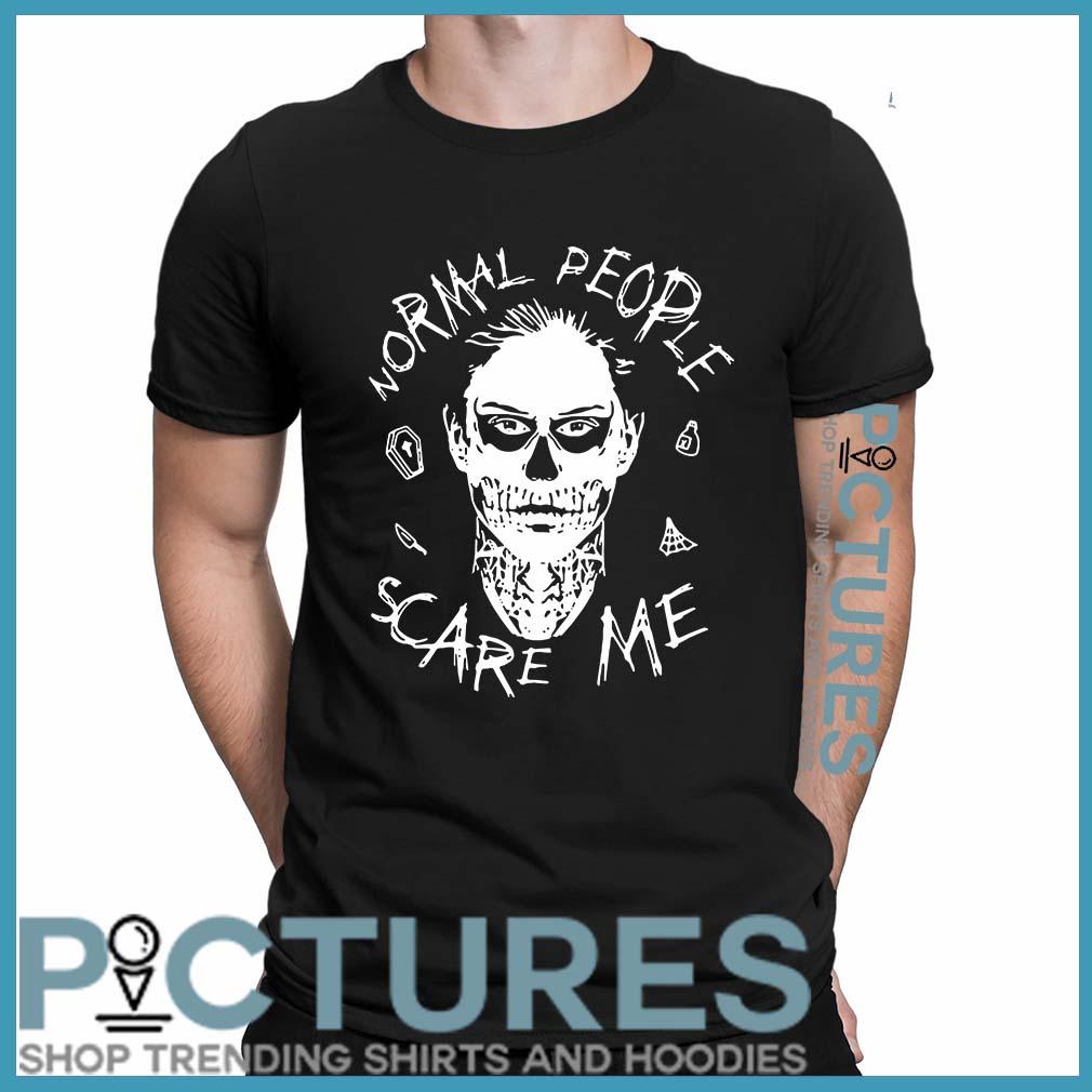 Evan Peters Normal people scare me shirt