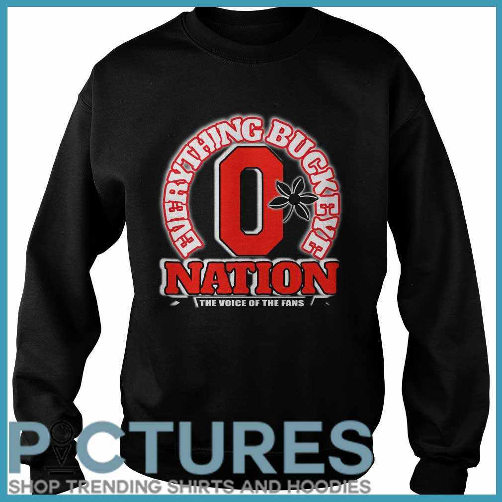 Everything Buckeye nation the voice of the fans Sweater