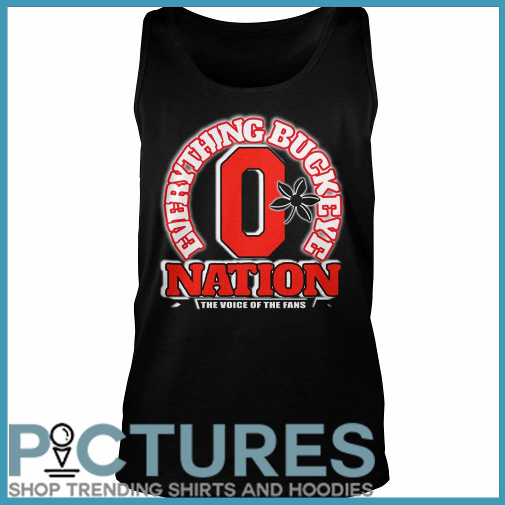 Everything Buckeye nation the voice of the fans Tank top