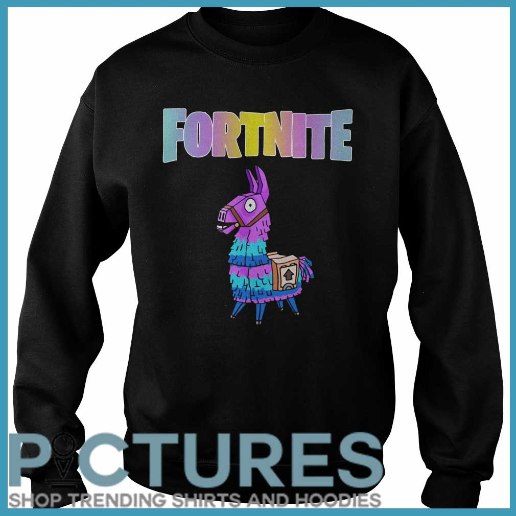 Fortnite Unicorn Llama Sweater