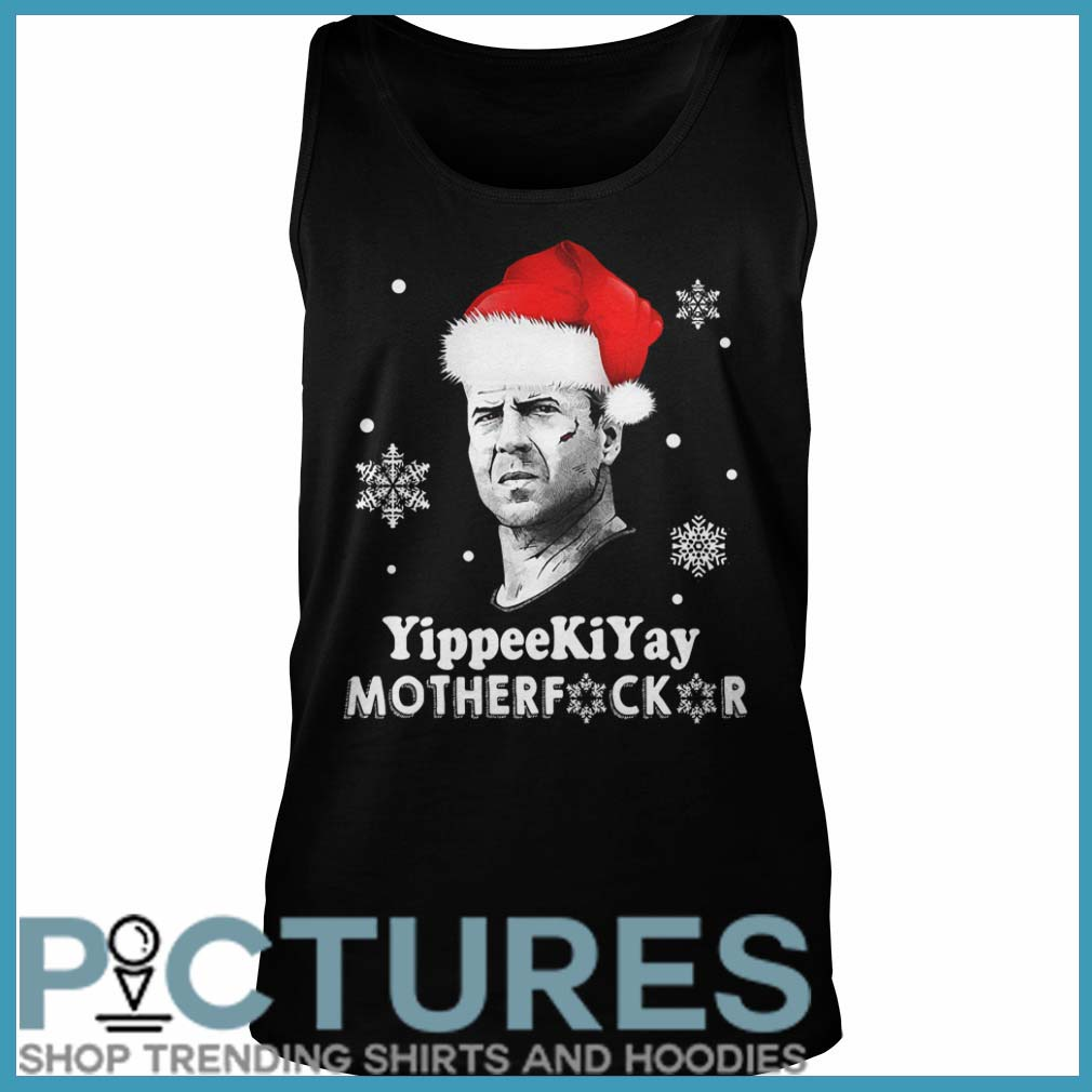 John Mcclane Yippee Ki Yay Motherfucker Christmas Tank top