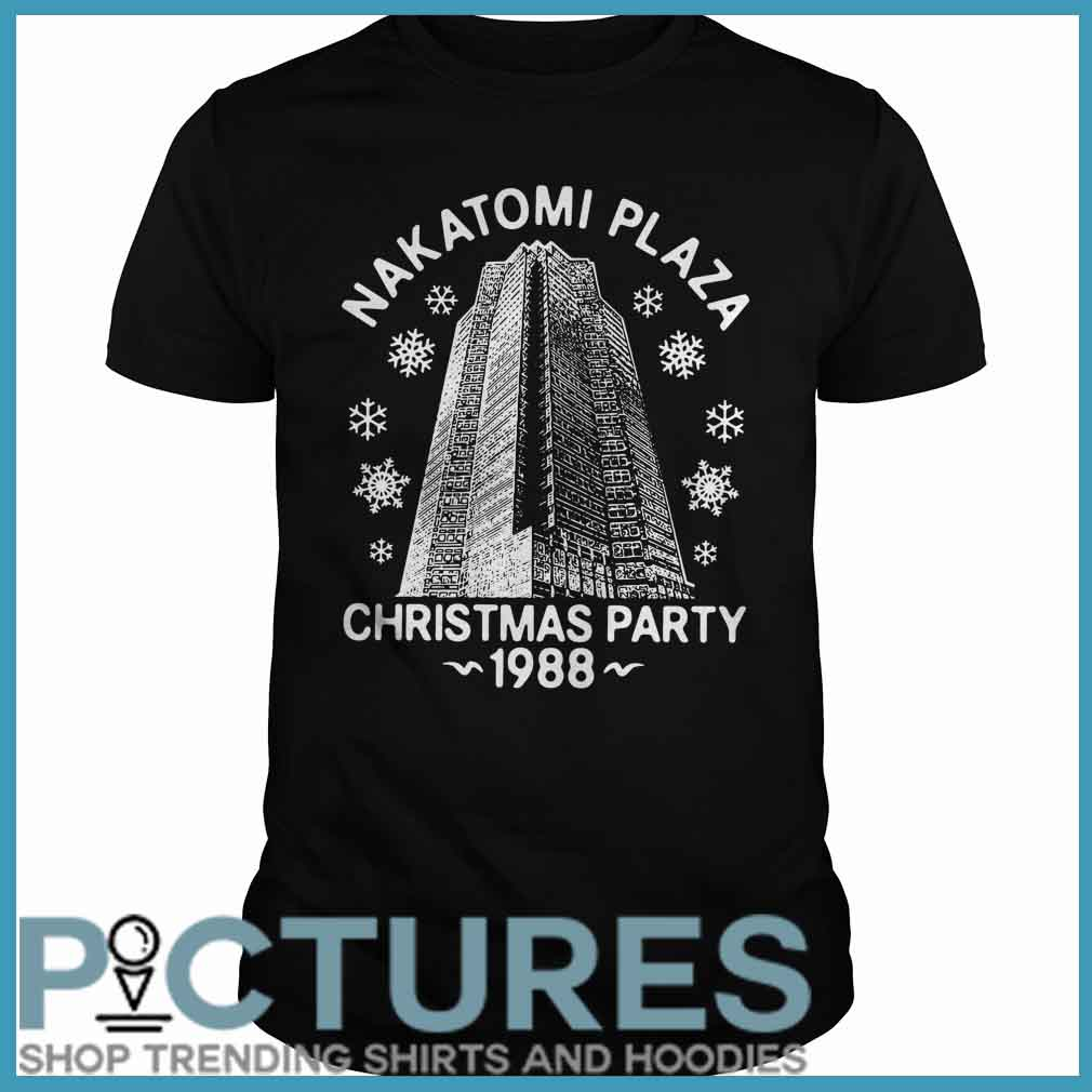 Nakatomi plaza Christmas party 1988 Guys tee