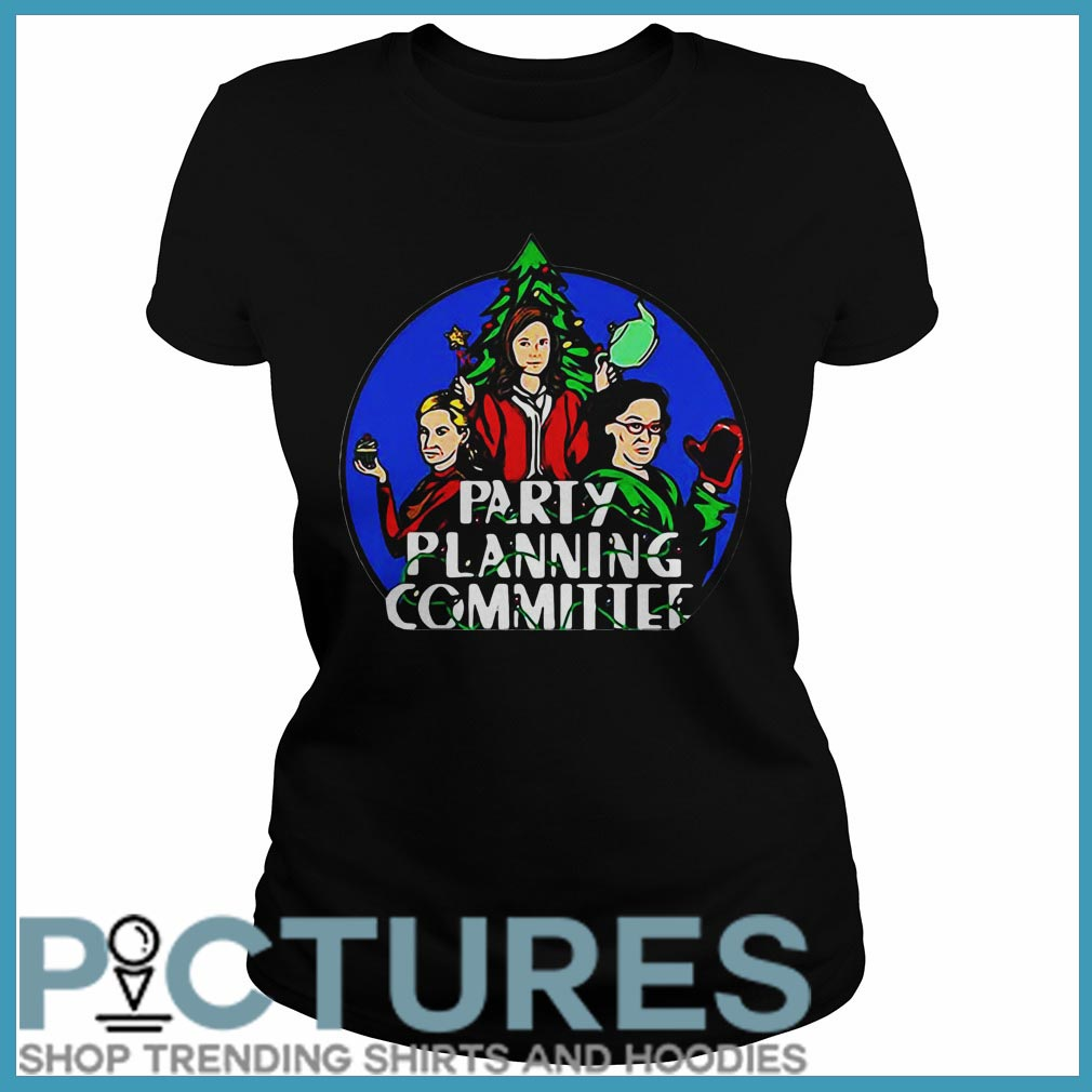 Party Planning Committee Christmas Ladies tee