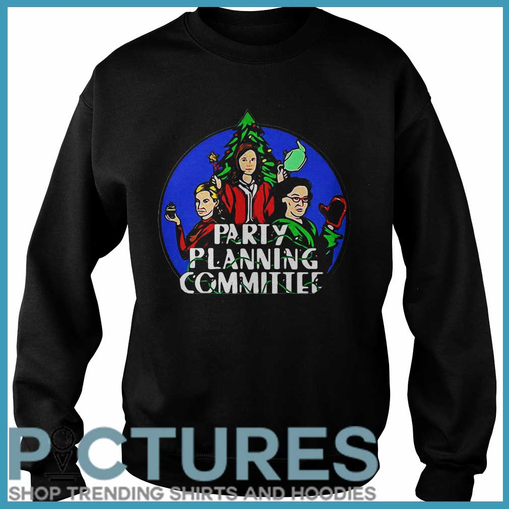 Party Planning Committee Christmas Sweater