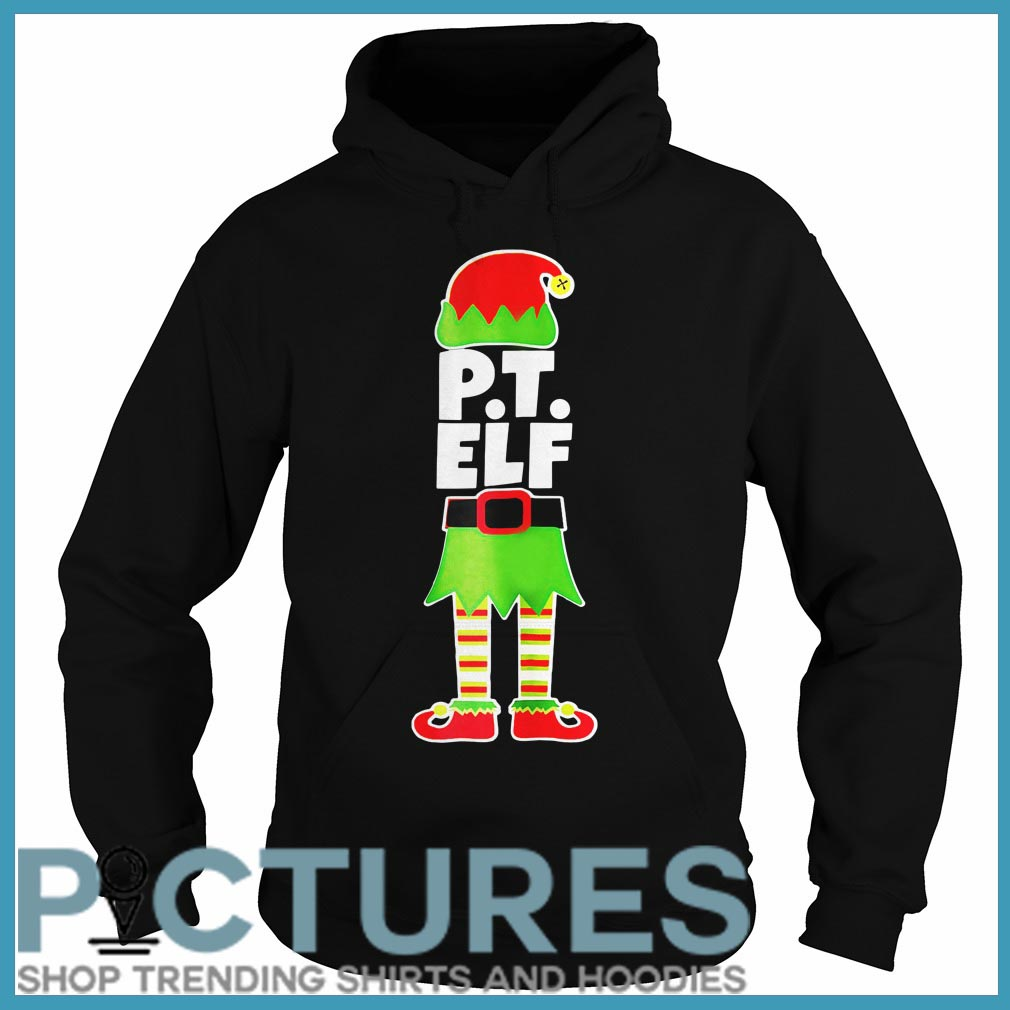 PT ELF Christmas Physical Therapist Therapy Holiday Shirt
