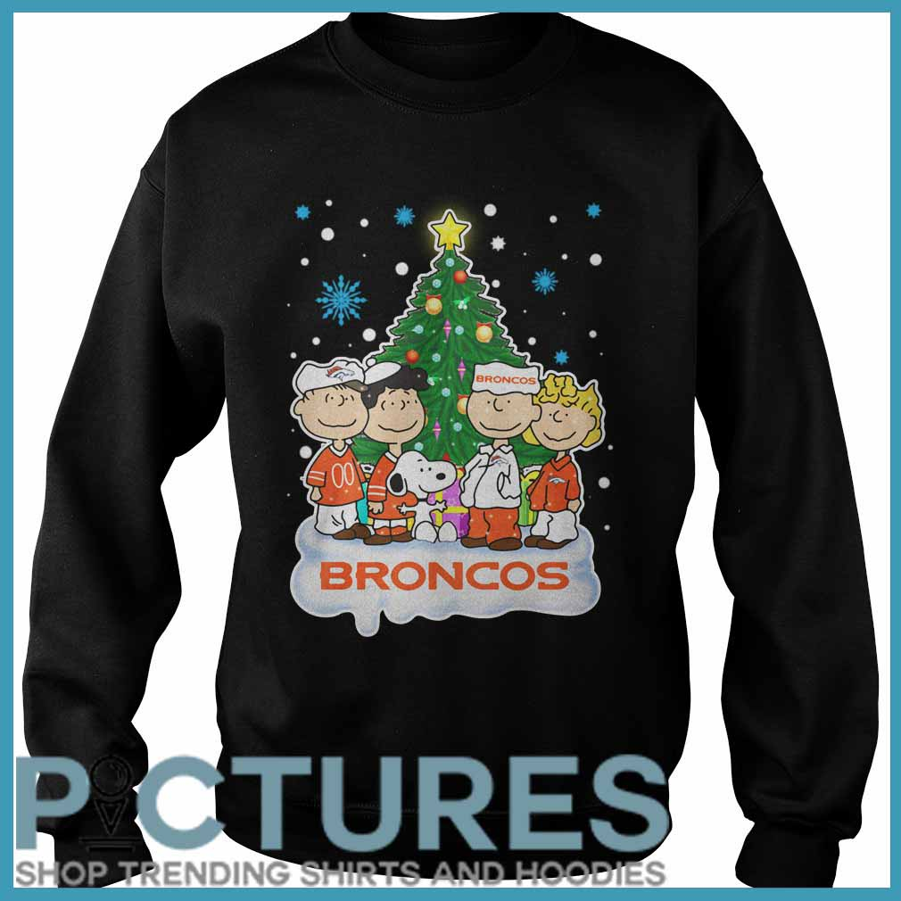 Snoopy Broncos Christmas Sweater