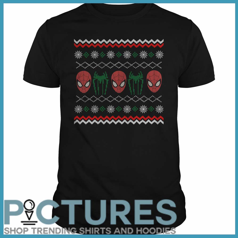 Spider Man Crawl Ugly Christmas Shirt Awesome And Funny